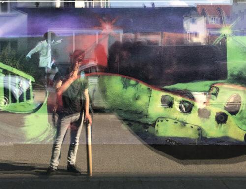 Schaufenster Ausstellungodo Niemenschland-Oasentour Rückblick