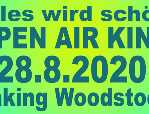 OPEN AIR KINOFreitag, 28.8.2020