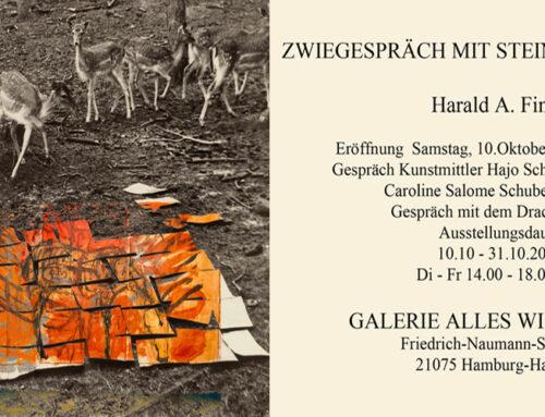 Ausstellung von Harald A. Finke10.10. – 31.10.2020