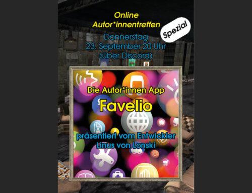 Online-Autorentreffen23. September 2021 um 20 Uhr